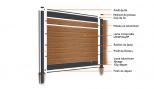 Kit profil départ et fin pour clôture