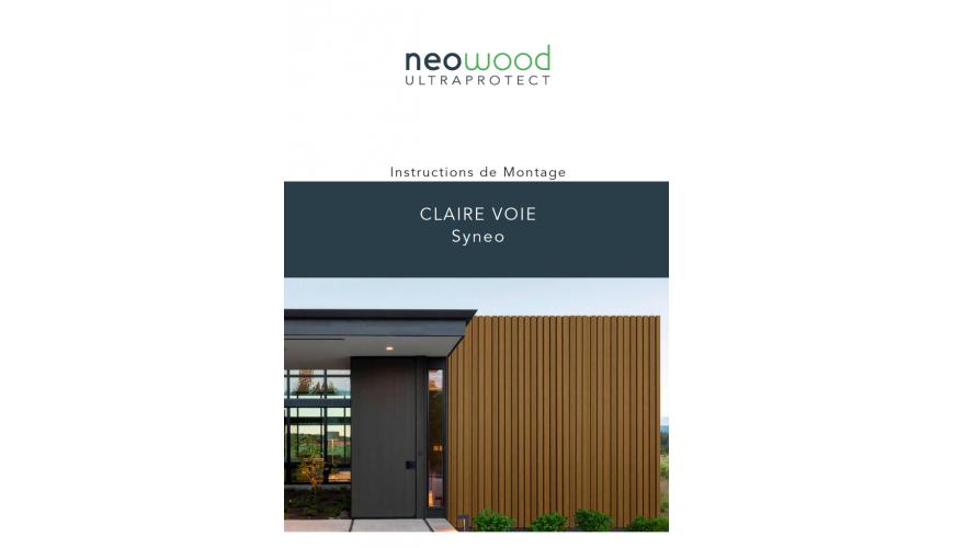 Notice Claire Voie NEO