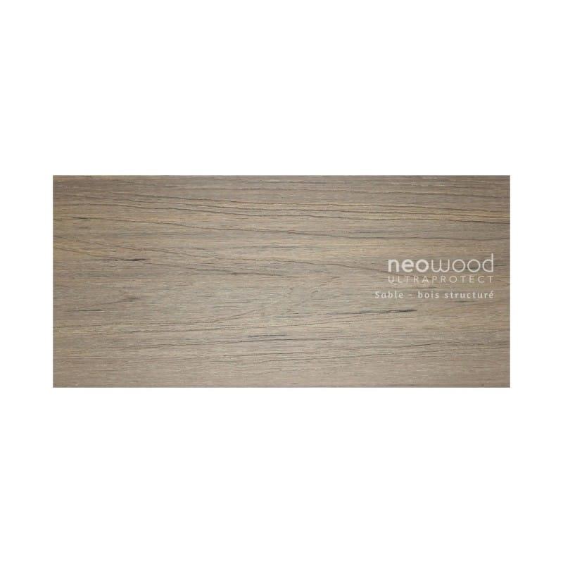 lames de terrasse bois composite profil semi plein. Black Bedroom Furniture Sets. Home Design Ideas