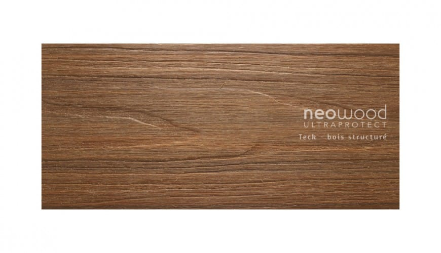 Lames De Terrasse Bois Composite Profil Semi Plein Neowood Ultraprotect