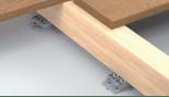Cale crantée réglable de 14 à 20 mm - pour lambourde terrasse