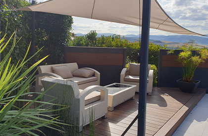 terrasse ombragee