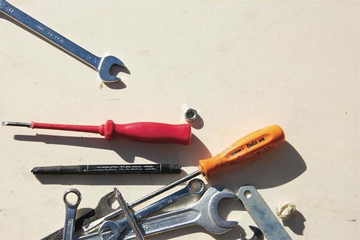 outils indispensables pour pose bardage composite