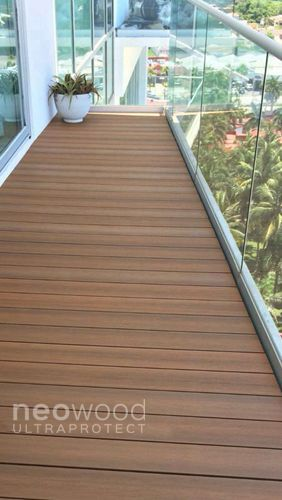 Terrasse Teck UltraProtect