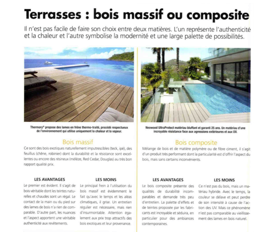 insertion neowood magazine maison et bois international