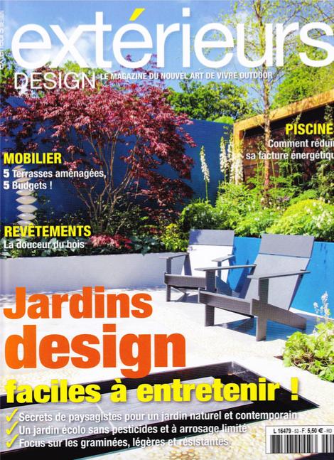 insertion presse magazine exterieur design