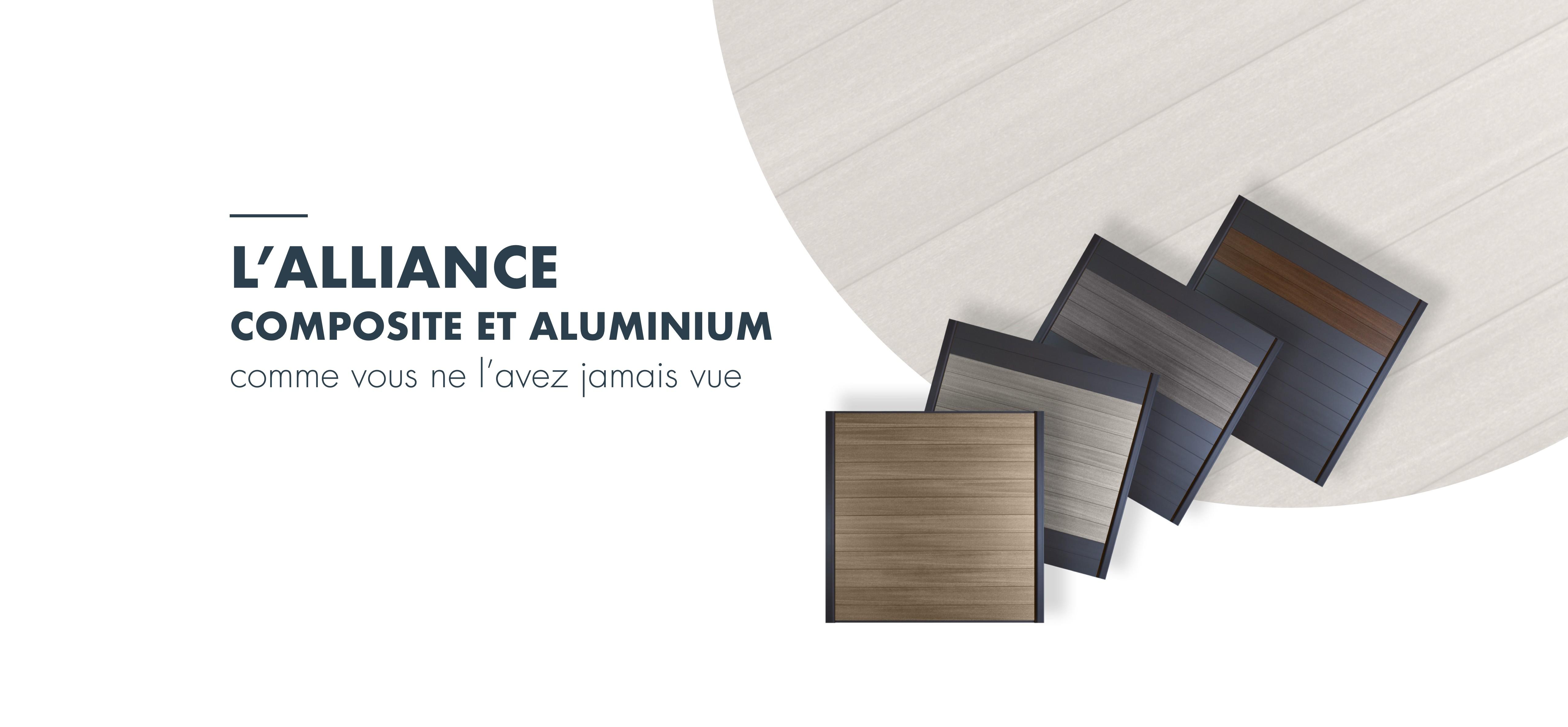 cloture ultraprotect composite aluminium